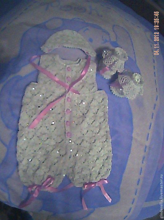 """Одежда для кукол ручной работы. Ярмарка Мастеров - ручная работа. Купить комплект """"Снегурочка"""". Handmade. Одежда для кукол, одежда для девочек"""