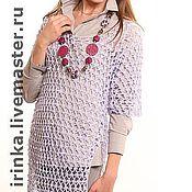"""Одежда ручной работы. Ярмарка Мастеров - ручная работа платье - туника """"Сетка"""". Handmade."""