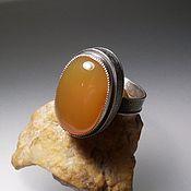 Украшения ручной работы. Ярмарка Мастеров - ручная работа Сердолик кольцо. Handmade.