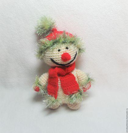 Игрушки Башкировой Анны, снеговик, Новый Год, подарки ручной работы