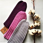 Аксессуары handmade. Livemaster - original item Beanie hat