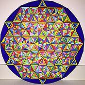 """Картины и панно ручной работы. Ярмарка Мастеров - ручная работа Картина """"Завораживающая геометрия"""". Handmade."""