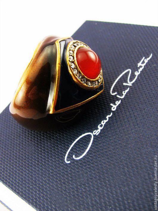 Винтажные украшения. Ярмарка Мастеров - ручная работа. Купить Коктейльное кольцо OSCAR de la RENTA. Handmade. Комбинированный, редкость