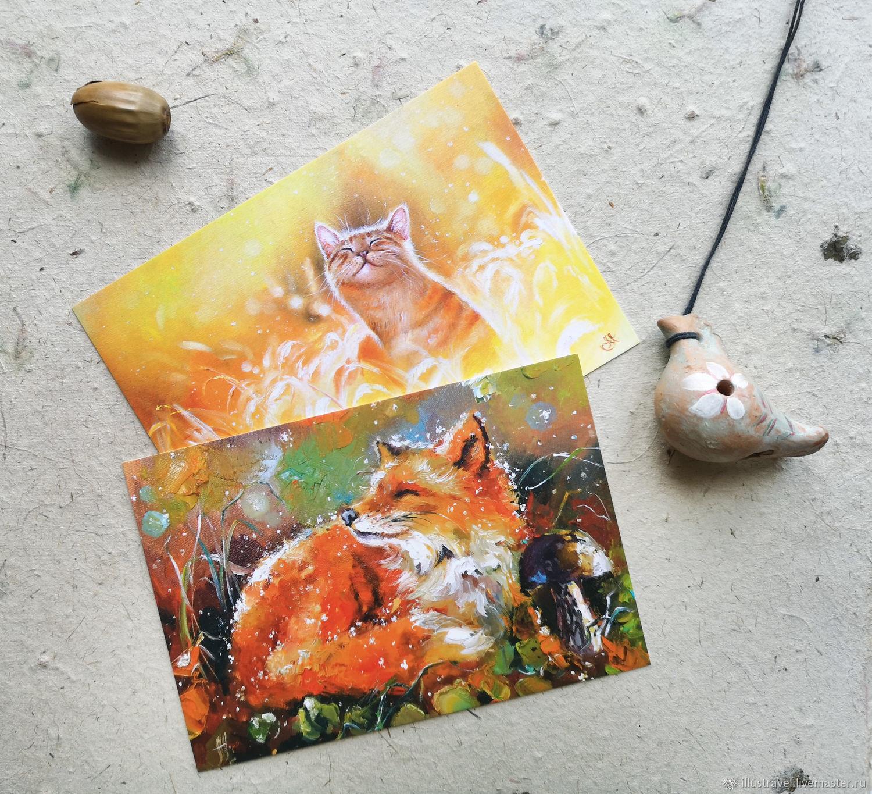 Стихами любимому, набор открыток с живописью