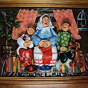 """Картины и панно ручной работы. Ярмарка Мастеров - ручная работа """"Сказки на ночь"""" 2. Handmade."""