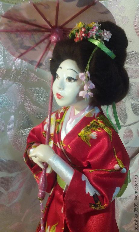 Мастер классы кукол японок из паперклея
