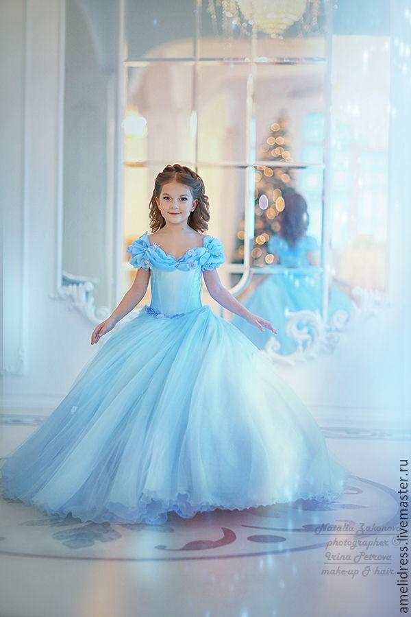 Детские платья золушка