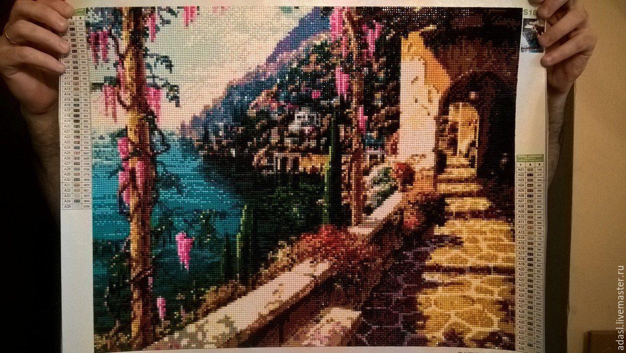 Картины алмазной вышивки на авито