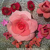 Украшения ручной работы. Ярмарка Мастеров - ручная работа неувядающие розы. Handmade.