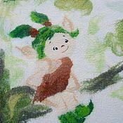 Работы для детей, ручной работы. Ярмарка Мастеров - ручная работа Детское валяное одеяло.. Handmade.