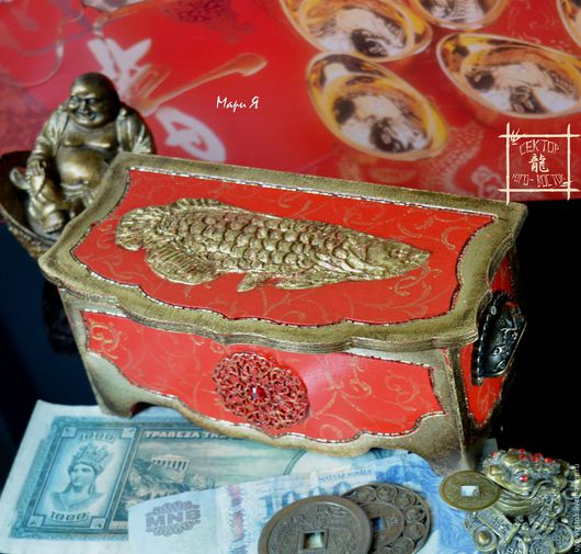 шкатулка для денег, иероглиф Богатство, как привлечь деньги, удача на деньги, деньги богатство, деревянная купюрница, арована москва, золотая арована, фэн шуй, для привлечения денег, купюрница