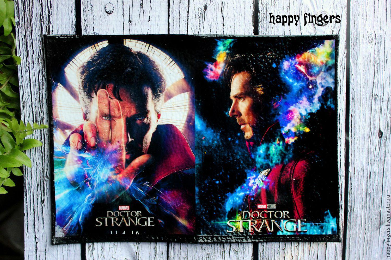 Covers handmade. Livemaster - handmade. Buy Leather passport cover 'Dr. strange' Doctor Strange.Marvel, cover for documents