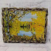 """Ключницы ручной работы. Ярмарка Мастеров - ручная работа Ключница """"Осень"""". Handmade."""