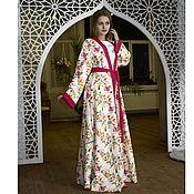 Одежда ручной работы. Ярмарка Мастеров - ручная работа Абая кимоно цветочная феерия. Handmade.