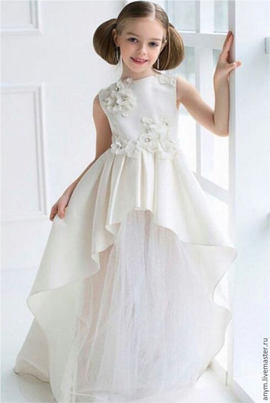 """Одежда для девочек, ручной работы. Ярмарка Мастеров - ручная работа. Купить Платье для девочка """"Ника"""". Handmade. Платье для девочки"""