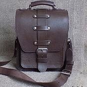 Сумки и аксессуары handmade. Livemaster - original item Mens bag belt leather. Handmade.