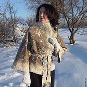 """Одежда ручной работы. Ярмарка Мастеров - ручная работа Валяный жакет """"Зимняя прогулка"""". Handmade."""