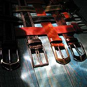 Аксессуары handmade. Livemaster - original item belt for jeans. Handmade.