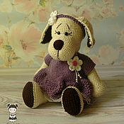 Подарки к праздникам handmade. Livemaster - original item Adorable toy dog. Handmade.