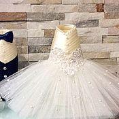 Свадебный салон ручной работы. Ярмарка Мастеров - ручная работа Съемные чехлы на свадебные бутылки .. Handmade.