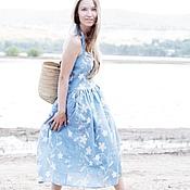 Одежда ручной работы. Ярмарка Мастеров - ручная работа Cарафан( Вивьен hot summer) для примера. Handmade.
