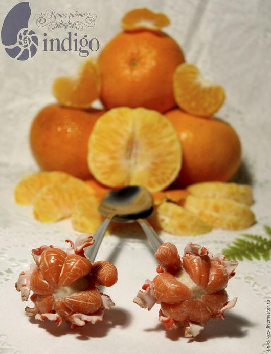 Вкусная, витаминная ложечка `МандаринКа`  ручной работы....создана с любовью и способна дарить радость))