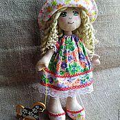Куклы и игрушки ручной работы. Ярмарка Мастеров - ручная работа Куколка Адель. Я люблю свою лошадку.. Handmade.