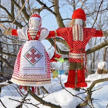 Куклы и игрушки ручной работы. Ярмарка Мастеров - ручная работа Народные куклы, Неразлучники, подарок на свадьбу, куклы обереги. Handmade.