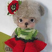 Куклы и игрушки handmade. Livemaster - original item Teddy Bear Makivka. Handmade.