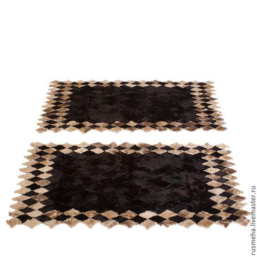 Текстиль, ковры ручной работы. Ярмарка Мастеров - ручная работа. Купить Напольный коврики для спальни Код: 714. Handmade. Коричневый