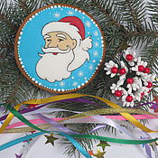 Сувениры и подарки handmade. Livemaster - original item Gingerbread Santa Claus from a fairy tale. Handmade.