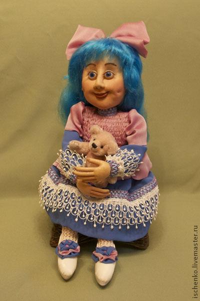 Коллекционные куклы ручной работы. Ярмарка Мастеров - ручная работа. Купить Кукла Мальвина. Handmade. Авторская кукла, эксклюзивный подарок