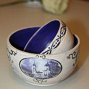 Для дома и интерьера handmade. Livemaster - original item A set of bowls