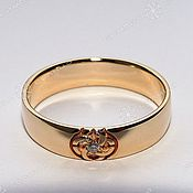 Русский стиль handmade. Livemaster - original item Rings with the symbol wedding Planner, wedding (W). Handmade.