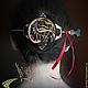 """Заколки ручной работы. Ярмарка Мастеров - ручная работа. Купить Заколка для волос """"Mortal Kombat"""". Handmade. Коричневый, резьба по дереву"""