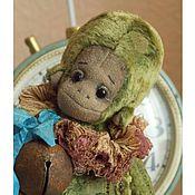 Куклы и игрушки ручной работы. Ярмарка Мастеров - ручная работа Августа. Обезьянка-тедди.. Handmade.