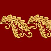 Материалы для творчества ручной работы. Ярмарка Мастеров - ручная работа Дизайн машинной вышивки Орнамент. Handmade.
