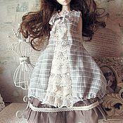 Куклы и игрушки ручной работы. Ярмарка Мастеров - ручная работа Наряд БОХО  для куклы БЖД  №9. Handmade.