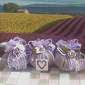 Сувениры и подарки ручной работы. Ярмарка Мастеров - ручная работа Лавандовые саше-мешочки. Handmade.