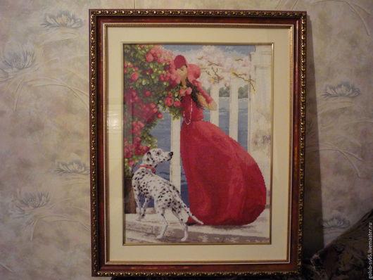 Люди, ручной работы. Ярмарка Мастеров - ручная работа. Купить Аромат роз. Handmade. Ярко-красный, красное платье, подарок