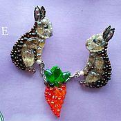 Украшения handmade. Livemaster - original item bunnies. Handmade.