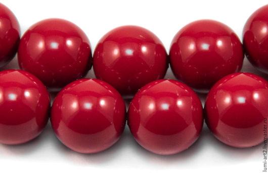 Для украшений ручной работы. Ярмарка Мастеров - ручная работа. Купить 10мм Red Coral Жемчуг Сваровски 718 Swarovski Perl 5 шт. Handmade.