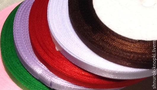 Шитье ручной работы. Ярмарка Мастеров - ручная работа. Купить Ленты атласные 6 мм. Handmade. Лента, лента для декора