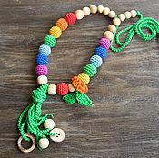 Одежда ручной работы. Ярмарка Мастеров - ручная работа Слингобусы радужные с кисточкой. Handmade.