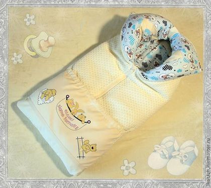 Одеяло трансформер на выписку своими руками
