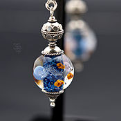 Украшения ручной работы. Ярмарка Мастеров - ручная работа Серьги-аквариумы. Handmade.