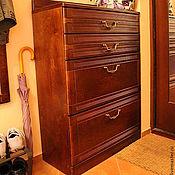 Для дома и интерьера ручной работы. Ярмарка Мастеров - ручная работа Прихожая с большим зеркальным шкафом. Handmade.
