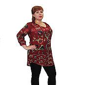 """Одежда ручной работы. Ярмарка Мастеров - ручная работа Блуза """"Сады Семирамиды"""". Handmade."""