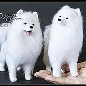 Куклы и игрушки ручной работы. Ярмарка Мастеров - ручная работа Собаки из шерсти. Handmade.