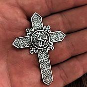 Русский стиль handmade. Livemaster - original item cross